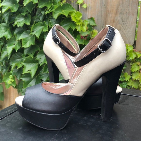 fee40534c7c Pink   Pepper platform heels